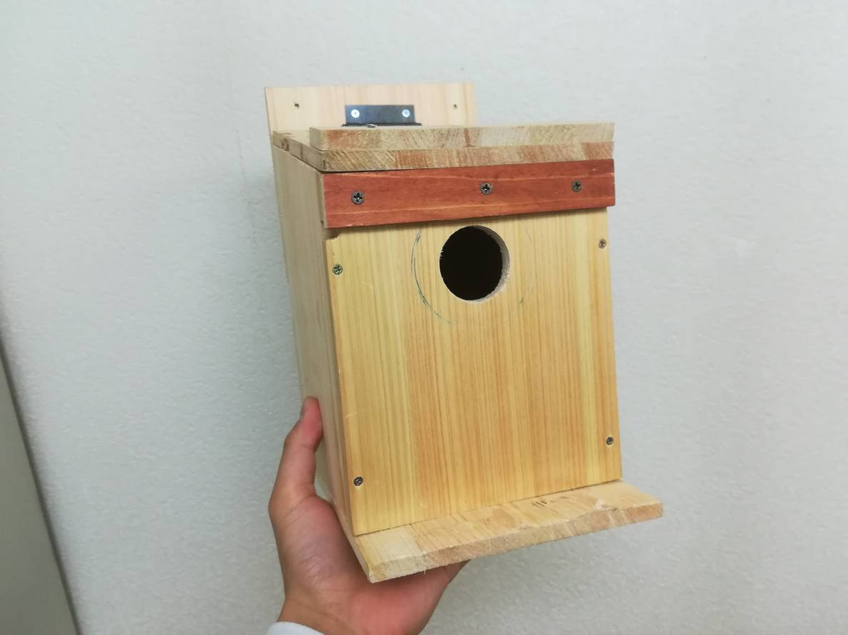 鳥の巣箱をDIYしてみた!≪庭に鳥を呼ぼう!≫