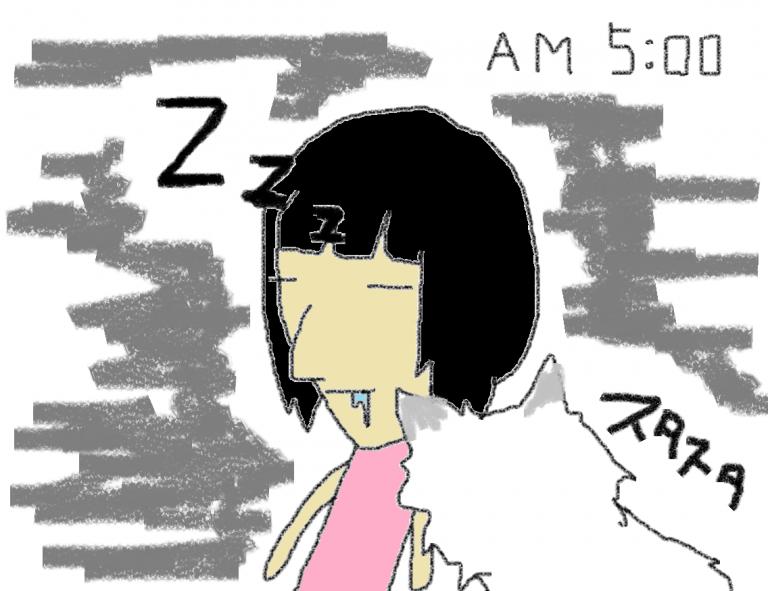 のりまきの朝は早い。≪前の日記より⑬≫