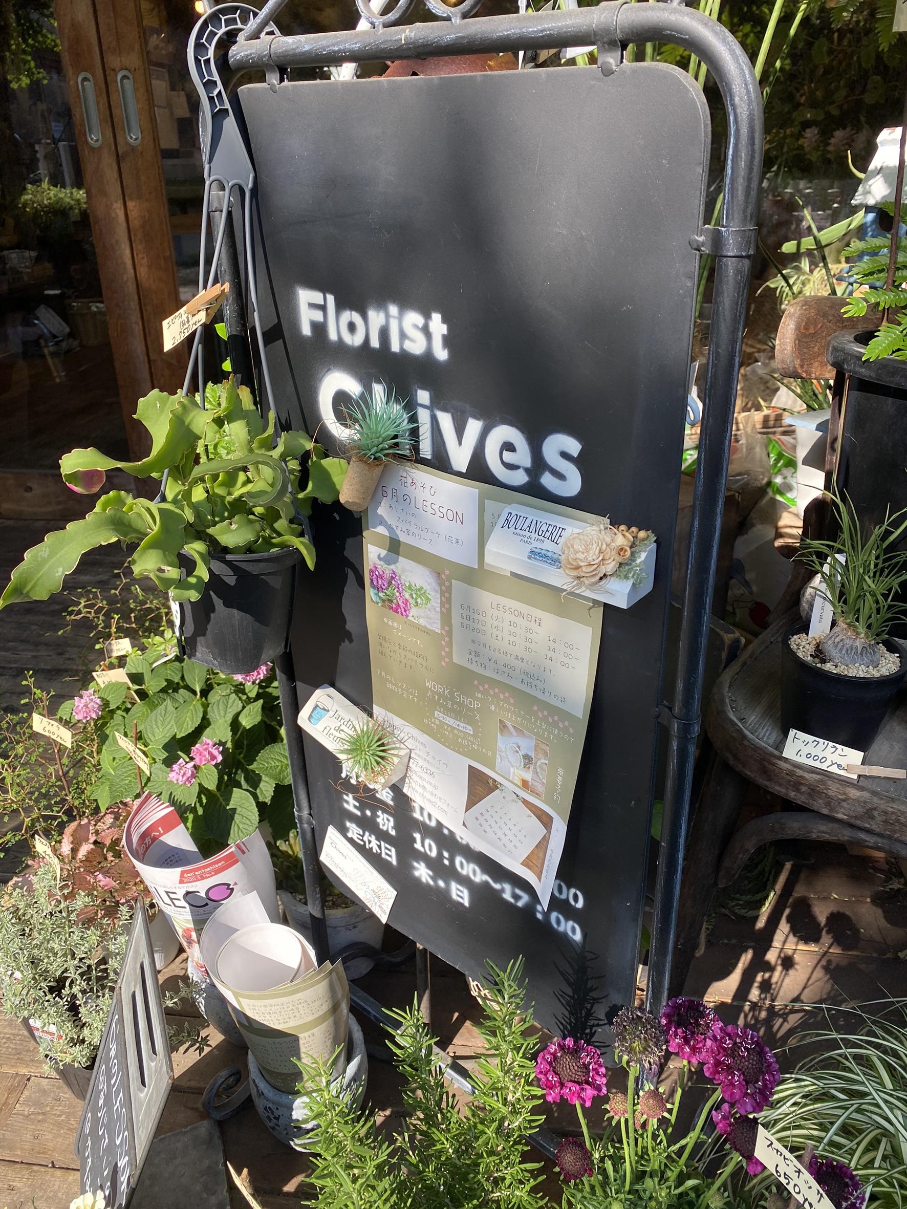 青葉台の植物屋「Frorist Chives」に行ってきた!